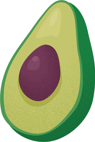 Slide Guac Illustration