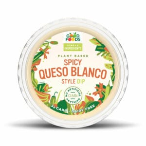 Spicy Queso Blanco Style Dip Packaging